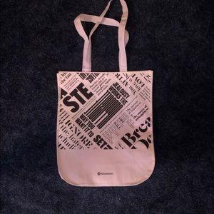 White Lululemon Tote Bag